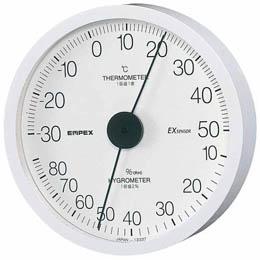 温度・湿度計 壁掛用 TM-6201ホワイト