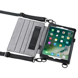 生活関連グッズ スタンド機能付きショルダーベルトケース(iPadPro9.7/iPadAir2兼用) PDA-IPAD912