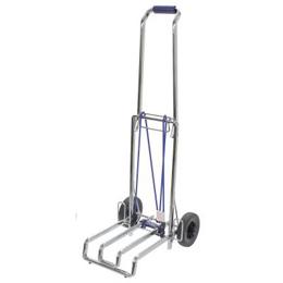便利雑貨 重い機材もらくらく運べるキャリーカート キャリーカートL E-6678