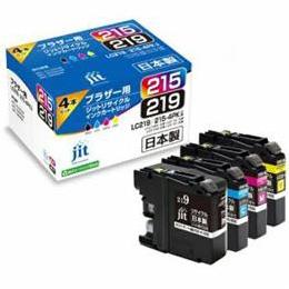 便利雑貨 互換プリンターインク 4色セット JIT-B2192154P