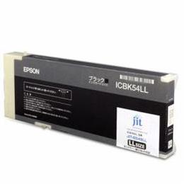 便利雑貨 ICBK54LL互換 リサイクルインクカートリッジ ブラック JIT-E54BLL