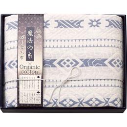 便利雑貨 プレミアム三重織ガーゼ毛布 L2083019