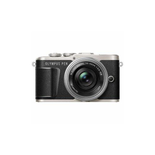 カメラ関連 デジタル一眼カメラ「PEN E-PL9」14-42mm EZレンズキットブラック PEN-E-PL9・14-42mm-EZ