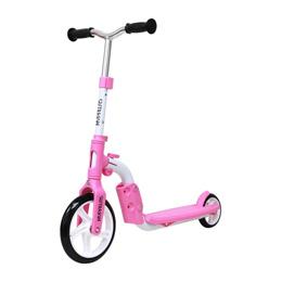 便利雑貨 バイクキックボード ピンク MY-2in1-P