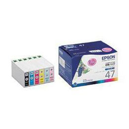 (インクカートリッジ 6色セット) IC6CL47人気 お得な送料無料 おすすめ 流行 生活 雑貨