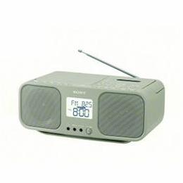 便利雑貨 CFD-S401-TI ワイドFM対応 CDラジオカセットレコーダー ベージュ