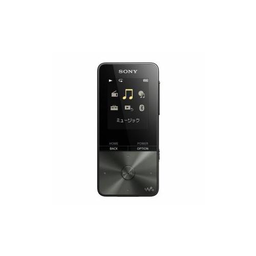 【RNH】 [NWS313B] ブラック SONY (4GB) NW-S313 B ウォークマンSシリーズ デジタルオーディオプレイヤー