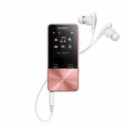 便利雑貨 NW-S315-PI ウォークマン Sシリーズ(メモリータイプ) 16GB ライトピンク