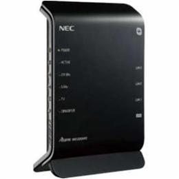 パソコン関連 NEC 11ac対応 867+300Mbps 無線LANルータ(親機単体) PA-WG1200HP3