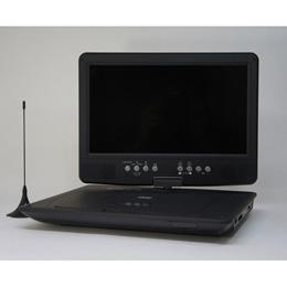 流行 生活 雑貨 10.1インチ液晶 フルセグ搭載 ポータブルDVDプレーヤー DV-PT1060