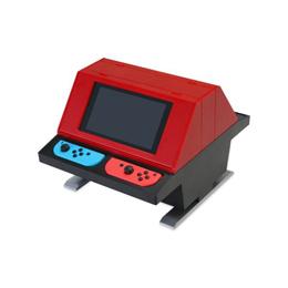 便利雑貨 Switch用 対面型アーケードスタンド レッド CC-NSTAS-RD