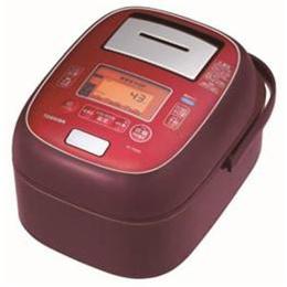 便利雑貨 真空圧力IH炊飯器 「鍛造かまど本丸鉄釜」 5.5合炊き ディープレッド RC-10VXM-RS