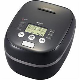 便利雑貨 土鍋圧力IH炊飯ジャー 「炊きたて」 (5.5合) アーバンブラック JPH-A101-KE
