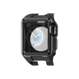 スマートフォン・タブレット・携帯電話関連 エレコム Apple Watch 42mm/ZEROSHOCKケース/ブラック AW-42ZEROBK