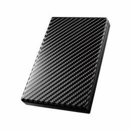 便利雑貨 USB 3.0/2.0対応ポータブルハードディスク「高速カクうす」 カーボンブラック 500GB HDPT-UT500K