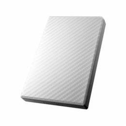 便利雑貨 USB 3.0/2.0対応ポータブルハードディスク「高速カクうす」 1TB セラミックホワイト HDPT-UT1W