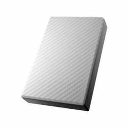 便利雑貨 USB 3.0/2.0対応ポータブルハードディスク「高速カクうす」 セラミックホワイト 2TB HDPT-UT2DW