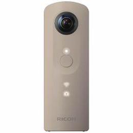 カメラ関連 全天球撮影カメラ 「THETA SC(シータ)」 ベージュ THETA-SC-BE 全天球撮影カメラ 「THETA SC(シータ)」 ベージュ THETA-SC-BE