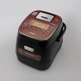 電化製品関連 アイリスオーヤマ IHジャー炊飯器3合 銘柄量り炊き KRC-ID30-R