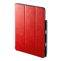 便利雑貨 iPad9.7インチケース Apple Pencil収納ポケット付き PDA-IPAD1014R
