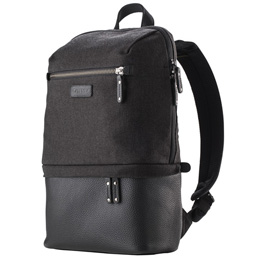 お役立ちグッズ Cooper Slim Backpack Grey Canvas V637-407