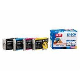 便利雑貨 インクカートリッジ 4色セット IC4CL6162