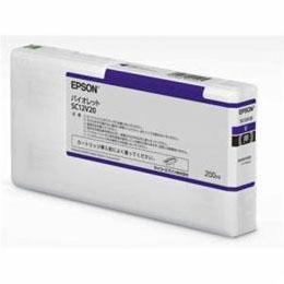 日用品 便利 ユニーク EPSON インクカートリッジ バイオレット 200ml SC12V20