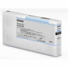 便利雑貨 インクカートリッジ ライトシアン 200ml SC12LC20