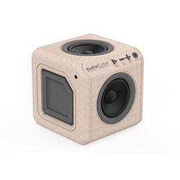 便利雑貨 オーディオキューブ 木目 audioCube Portable WOOD edition US 3701/USACWD