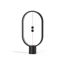 生活関連グッズ ヘンバランスランプ(プラスチック) ブラック Heng Balance Lamp Ellipse Plastic USB BLACK DH0040BK/HBLEUB