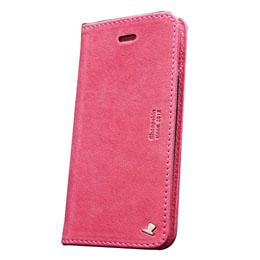 便利雑貨 AEJEX iPhone5用ケース FLIPタイプ ピンク AS-AJIP5F-PK