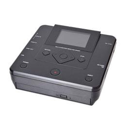 電化製品関連 サンコー PCいらずでDVDにダビングできるメディアレコーダー MEDRECD8