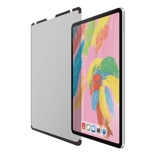 日曜 雑貨 エレコム iPad Pro 11インチ 2018年モデル用のぞき見防止フィルタ ナノサクション 360度 TB-A18MFLNSPF4