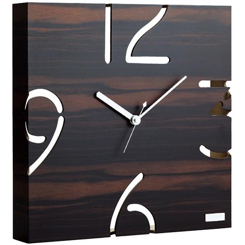 掛時計(黒檀) 6135-042オススメ 送料無料 生活 雑貨 通販