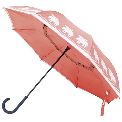流行 生活 雑貨 逆さに開く二重傘(専用傘袋付) K90602624