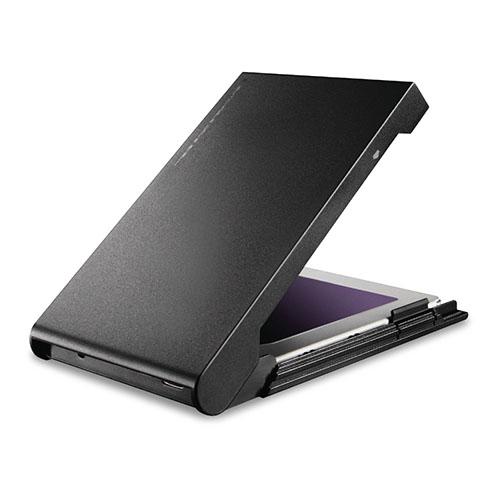 日曜 雑貨 エレコム HDD SSDケース 2.5インチ USB3.2 Gen2 Type-C HDDコピーソフト付 ブラック LGB-PBSUCS