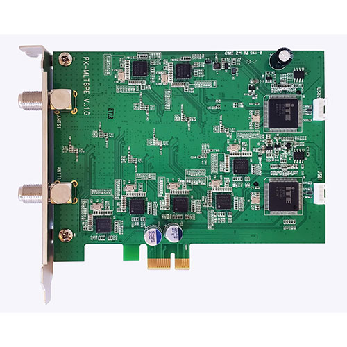 流行 生活 雑貨 PLEX PCI-Ex+ 内部USB 端子接続 地上デジタル・BS・CS マルチテレビチューナー PX-MLT8PE