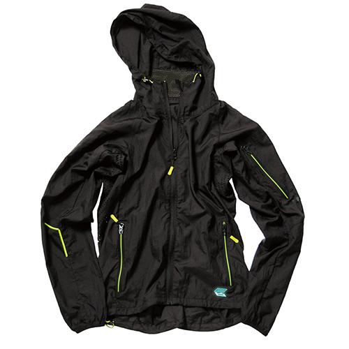 ウインドブロックジャケット ブラック×グリーン L AS 320BKGRLお得 な 送料無料 人気 トレンド 雑貨 おしゃれQdBCtsrhx