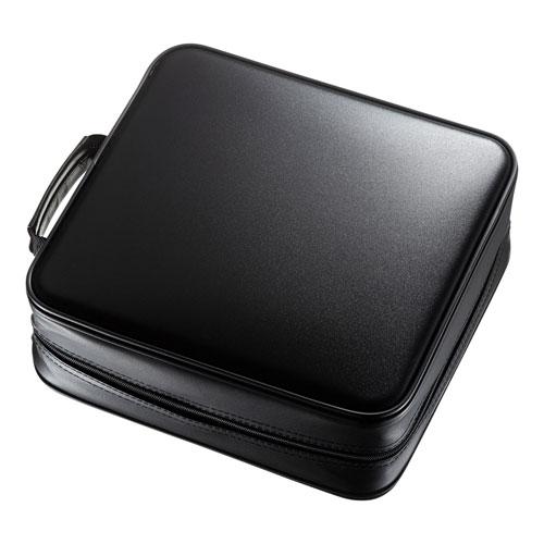 日用品 便利 ユニーク サンワサプライ ブルーレイディスク対応セミハードケース(320枚収納・ブラック) FCD-WLBD320BK