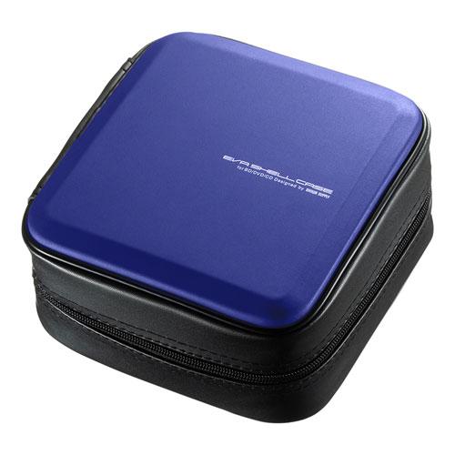 生活 雑貨 通販 ブルーレイディスク対応セミハードケース(60枚収納・ブルー) FCD-WLBD60BL