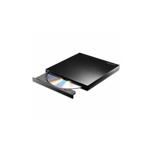 USB 3.0対応 バスパワー&オーサリングソフト付きポータブルDVDドライブ ブラック DVRP-UT8H 人気 商品 送料無料