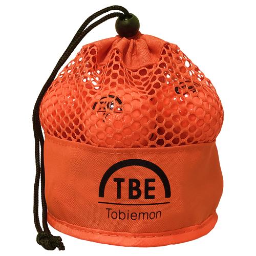 ★アマゾンランキング大賞ゴルフボールで3年連続年間1位獲得。不動の人気1メッシュバック入り2ピースボール 12個セット 2ピース カラーボール メッシュバック入り オレンジ TBM-2MBOX12 人気 商品 送料無料