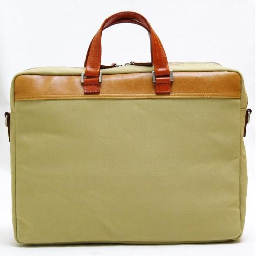 ビジネスバッグ ビジネス バッグ セール 登場から人気沸騰 軽量 織人ハンプビジネスバッグ本革付属 丈夫 ベージュ 限定モデル