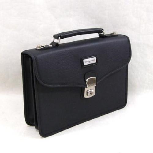 ビジネス バッグ 鞄 日本製 バッグ・小物 ヴァレンチノ サバティーニ兼用バッグ31cm 国産です ブラック