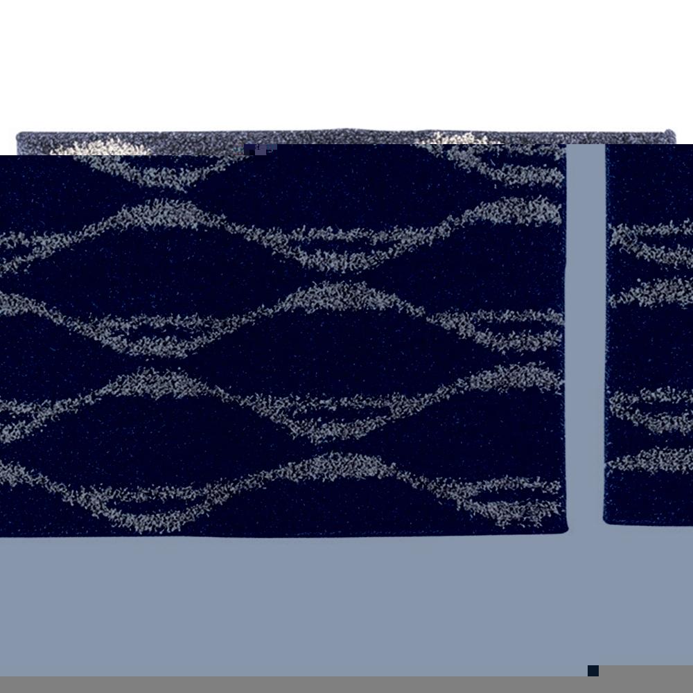 カーペット マット 北欧風 バーガンディ風 タフトラグ・マット サイズ:185×185cm カラー:グレイ