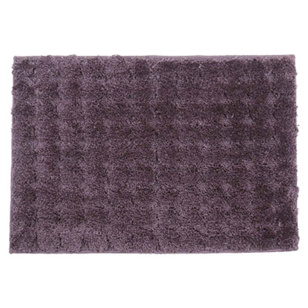 敷き物 Lag ポリエステル ぽこぽこ製法 ラグ&マット カラー:パープル サイズ:130×185cm