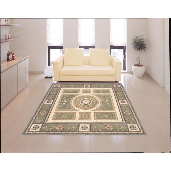 絨毯 気品漂う、空間を醸し出す 人気商品 ラグ・マット 200×290cm グリーン