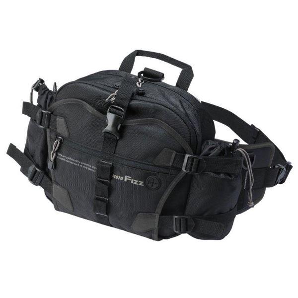 生活用品・インテリア・雑貨 タナックス(TANAX) デジバッグプラス(ヒップ) ブラック MFK-204