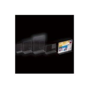 文具・オフィス用品 (まとめ買い)クルーズ サインホルダー両面用A4横 CR47701 【×10セット】