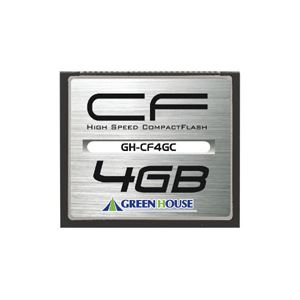 パソコン・周辺機器 関連 コンパクトフラッシュ 133倍速 4GB GH-CF4GC 1枚